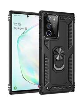 Estuche Antigolpes Samsung Galaxy Note 20 De Lujo Anillo 360