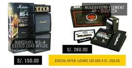 Mini Amplificador + Multiefecto