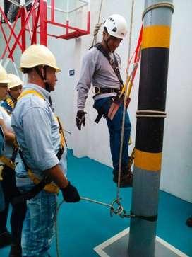 Certificado para trabajo seguro en alturas en Bogota
