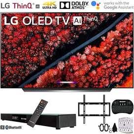 Proyector Lg Oled65C9Pua 65 C9 4K Hdr Smart Oled Tv Ai Thinq 2019 Soundbar Bundle Includes Deco Gear Home Theater Surrou