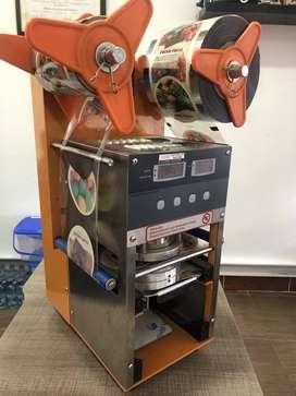 Selladora de vasos automatica