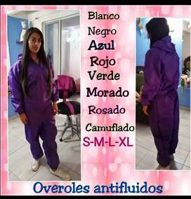Overoles impermeable antifluido