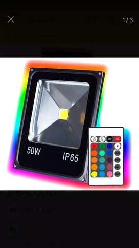 Reflector Multicolor Rgb 50w