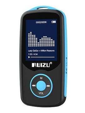 RUIZU X06 8GB Grabador de Voz MP3 player. Radio FM. Bluetooth