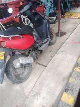 Moto bws 100 todo lo funciona negociable