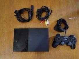 Vendo PS2 usada impecable, muy poco uso, slim, Zona Norte