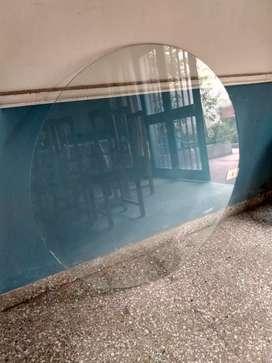 Vidrio circular para mesa