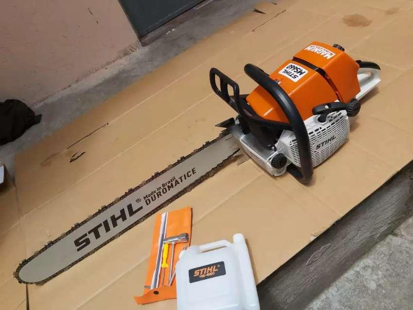 Moto sierra ms660 stihl 0