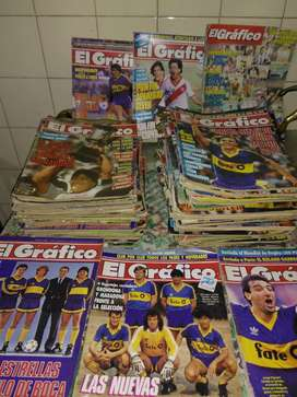 Colección de revista el grafico