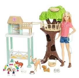 Nuevo Original Barbie al rescate animal