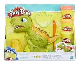 Rex El Dinosaurio Play-doh Original Plastifica Envio Rapido