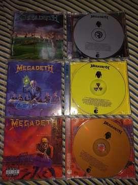 CD originales de Megadeth