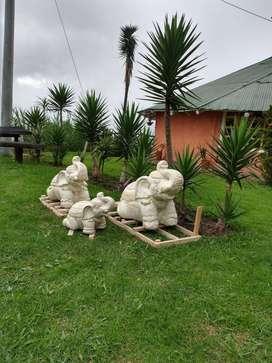 Elefantes de bali para jardin