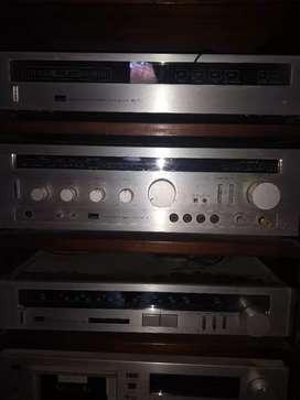 Usado, Equipo música Sansui 100 watt segunda mano  Cuadro Benegas, Mendoza