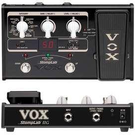 Vox Stomplab2g Pedal De Efectos Múltiples Modelado Guitarra