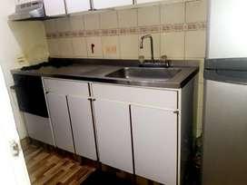 cocina integral usada
