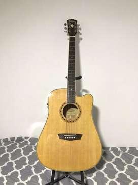 Guitarra electroacustica washburn