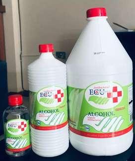 Alcohol con registro sanitario