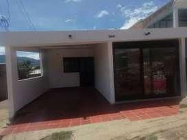 Vendo hermosa casa esquinera en el barrio galán Villa del Rosario mide 6 de frente por 18 de fondo tiene dos negocios