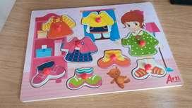 Rompecabezas estimulacion aprendizaje niño niña bebe juguete