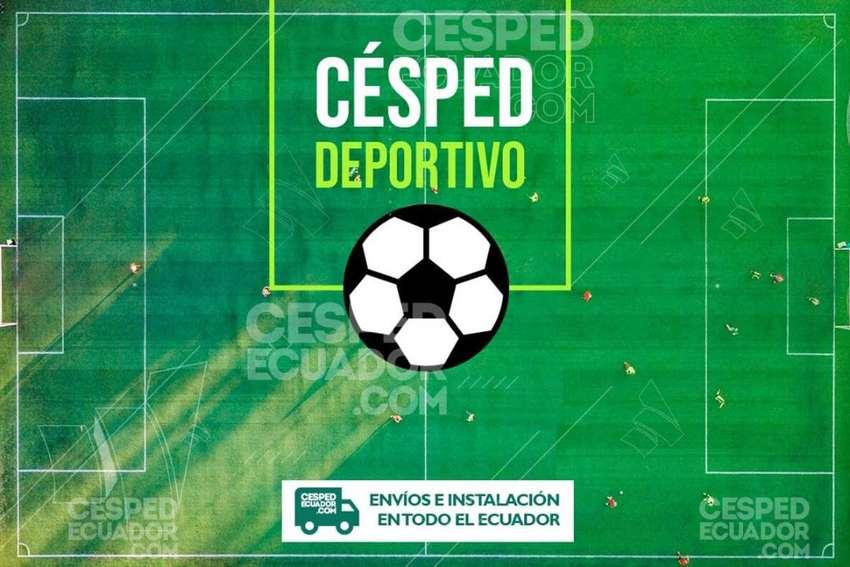 Venta e Instalacion Césped Sintético deportivo para canchas de Futbol 0