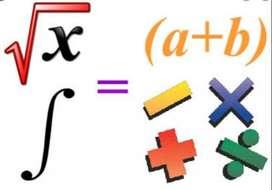 Profesor a domicilio de matemática , física y química