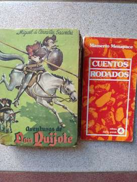 Don Quijote de la Mancha y Mamerto Menapace