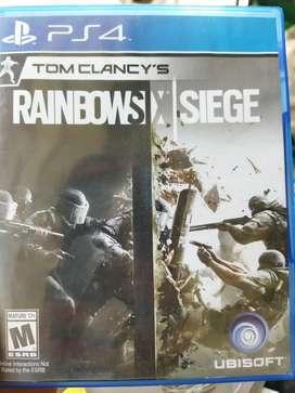 Juego PS4 Rainbowsix Siege de segunda original