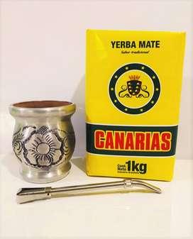 Venta Kit Matero Argentino para tomar Yerba Mate #342-22