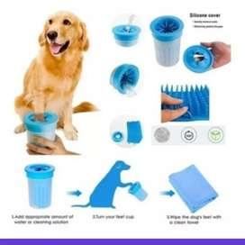 Limpiador de patas para mascotas portatil pequeño