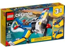 Lego Creator 3 En 1 31094 Avión De Carreras