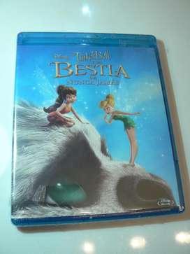Tinker Bell y la Bestia de Nunca Jamás. Nuevo. 100 Original.