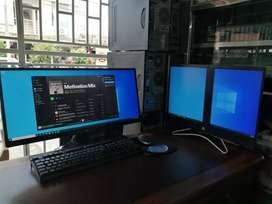 Todo en Uno HP doble pantalla