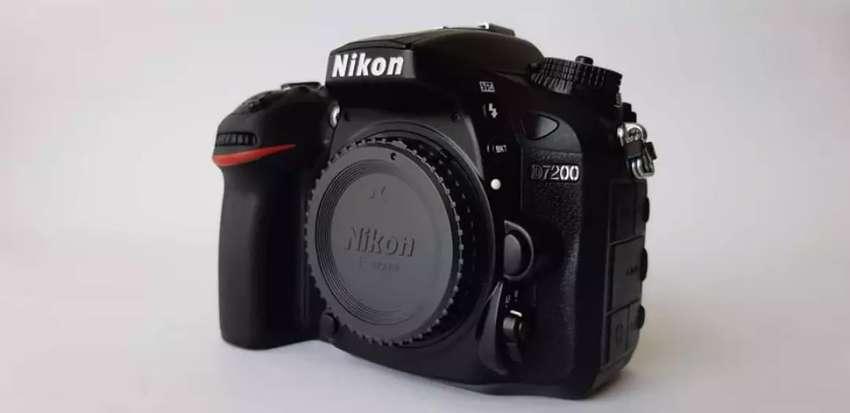 Nikon D7200 Camara Body Profesional 24Mplx Full HD 0