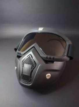 Máscara para moto