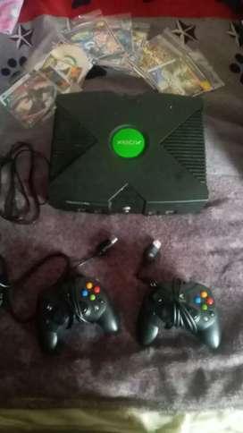 Xbox con controles
