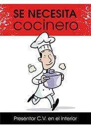 COCINERO  COCINERA CHEF