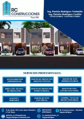 Rc construcciones Machala. Consultores y constructores con más de 37 años de experiencia