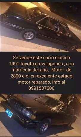 De oportunidad se vende carro clasico