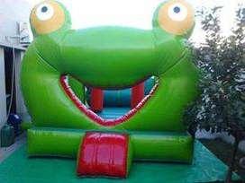 Inflable tematico Sapo Pepe