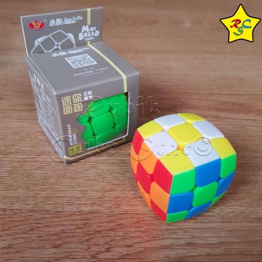 Cubo De Rukib 3x3 Yj 4.5cm Pillow Stickerless 4,5 Cm 0