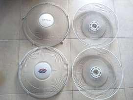 Juego de rejillas para ventiladores COMO NUEVOS!