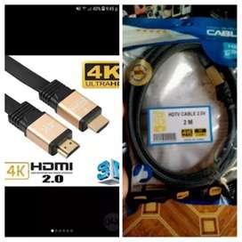 Cable HDMI 4K 2 metros. ULTRA HD de 2.0V.