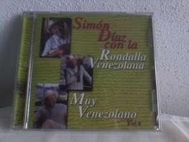 CD Simon Diaz con la Rondalla Venezolana nuevo en su envoltorio
