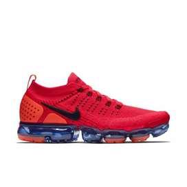 Zapato Nike vapormax red y amarilla