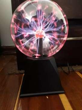 bola de plasma-electrica