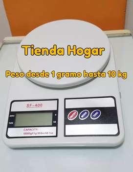 Balanza cocina de 1g a 10kg. Nuevas