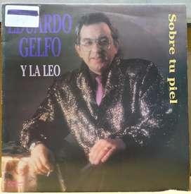 disco vinilo Eduardo Gelfo Sobre tu piel