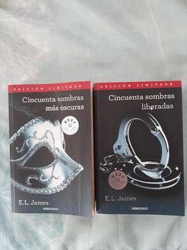 Libros 50 Sombras de James