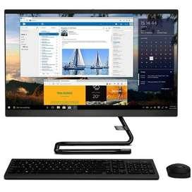 Computador All In One Lenovo Intel Core I5 10Gen 4gb 1tb 24